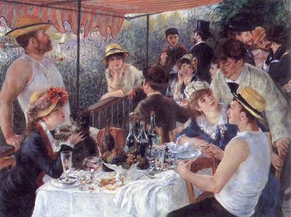 Almuerzo De Los Remeros Renoir