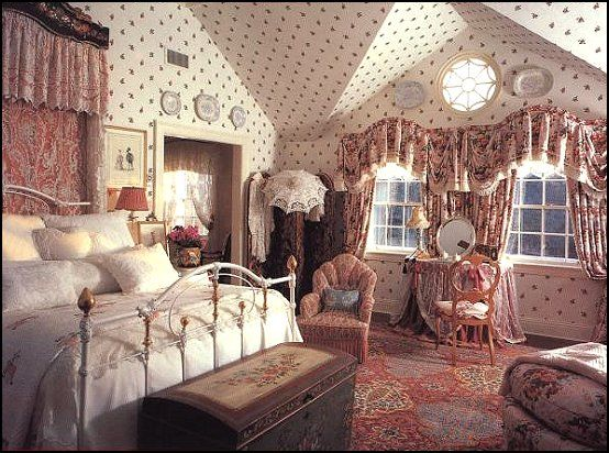 Romantic Country Victorian Decorating | Victorian theme decorating ideas and vintage boho style decorating ...