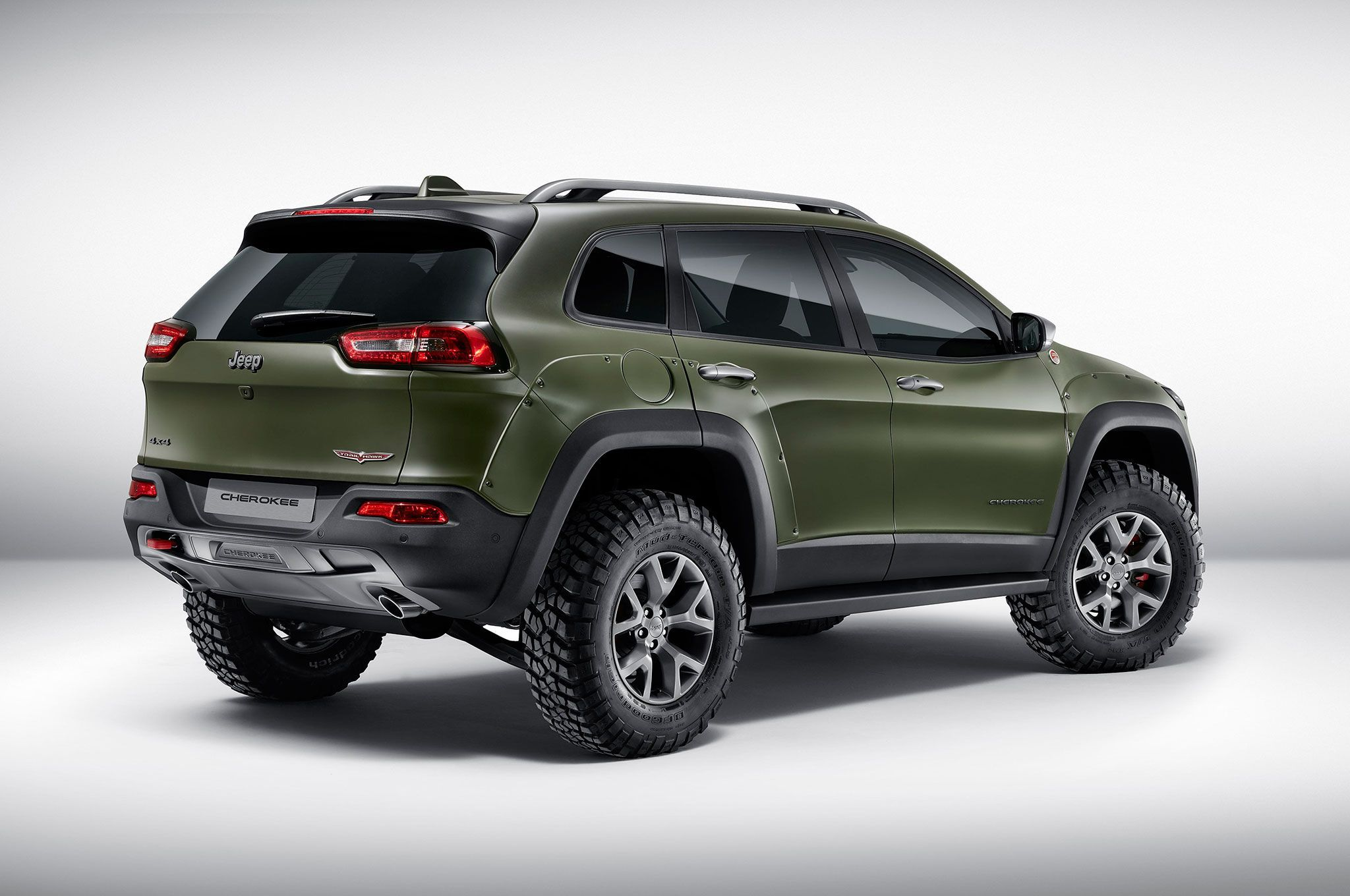 Jeep Cherokee Krawler Diesel Wrangler Rubicon Sunriser And Renegade Trailhawk Unveiled In Frankfurt Jeep Cherokee Jeep Jeep Suv