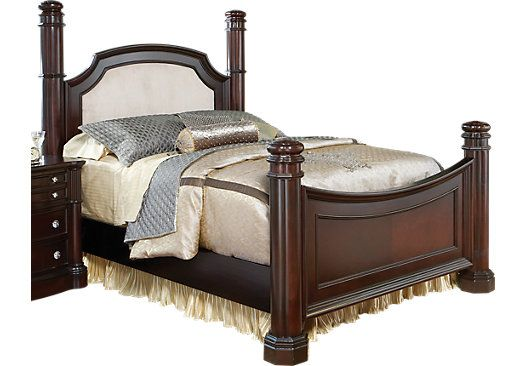 Shop For A Dumont Pc King Low Poster Bed At Rooms To Go Find - Dumont bedroom furniture