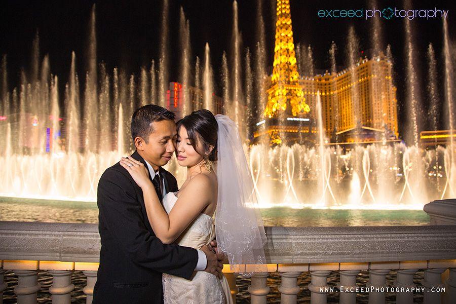 Las Vegas Strip Wedding Photo Tour