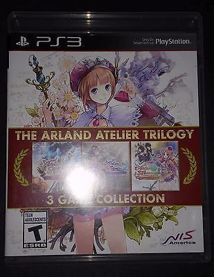 Arland Atelier Trilogy 3 Game Collection PS3 RARE Playstation 3 FREE SHIPPING https://t.co/4g7drbvDZm https://t.co/ZMnWx6qZLR