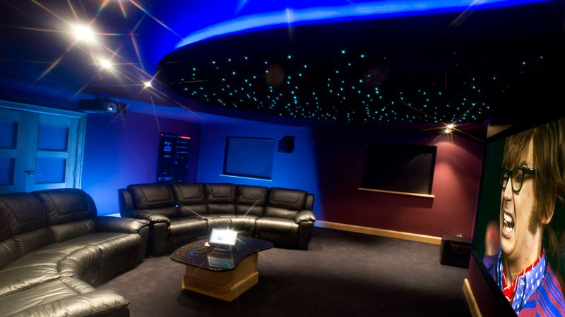 movie room lighting. the table would be bigger to accomodate all popcorn sweets and drinks austin movie roomstv room lighting