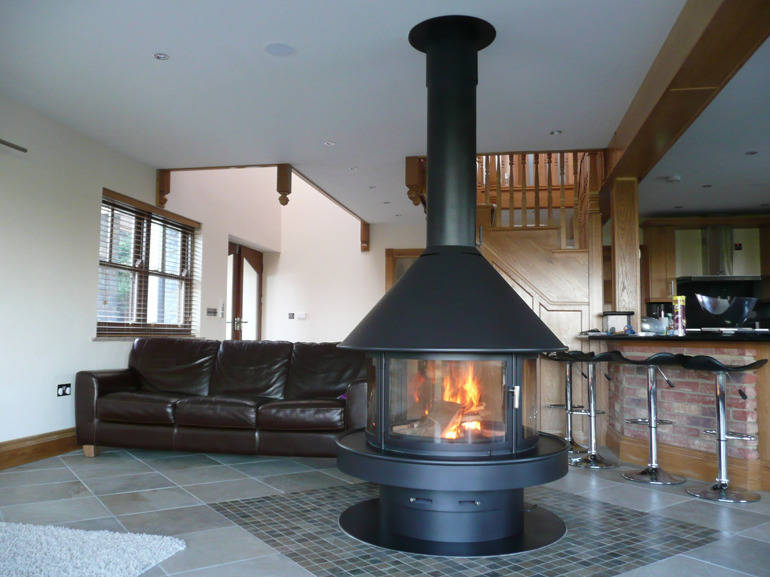 Rocal Gala fireplace supplied by www.topstak.co.uk | Chimeneas ...