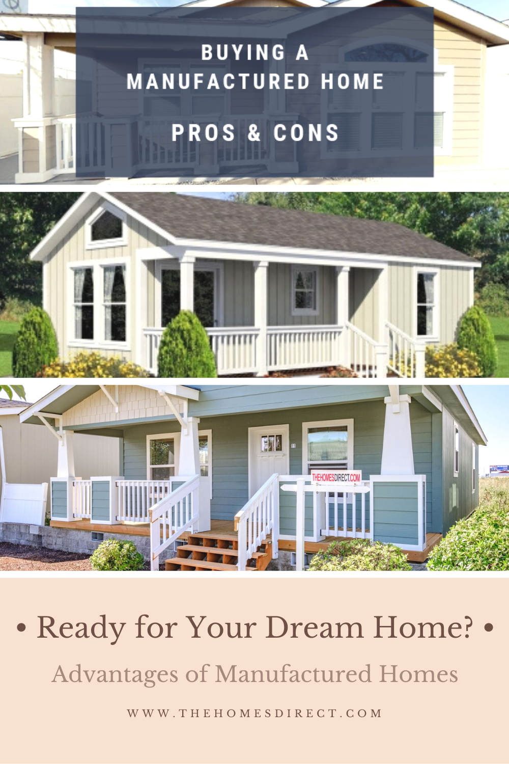Ready For Your Dream Home Buying A Manufactured Home Pros And Cons In 2020 Buying A Manufactured Home Manufactured Home Small House Remodel