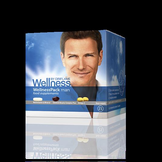 Πολυβιταμίνη/ Ιχθυέλαια/ Ασταξανθίνη  WellnessPack για άνδρες