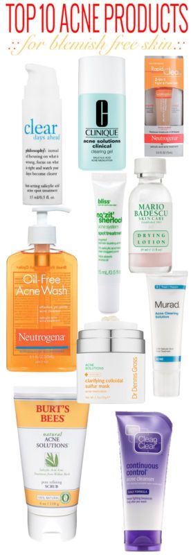 Top 10 Acne Products Top 10 Acne Products Best Acne Products