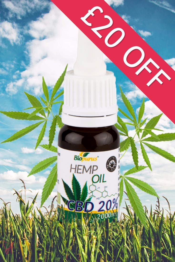 BFCM £20 OFF OFFER on the entire Biopurus CBD Oil Collection
