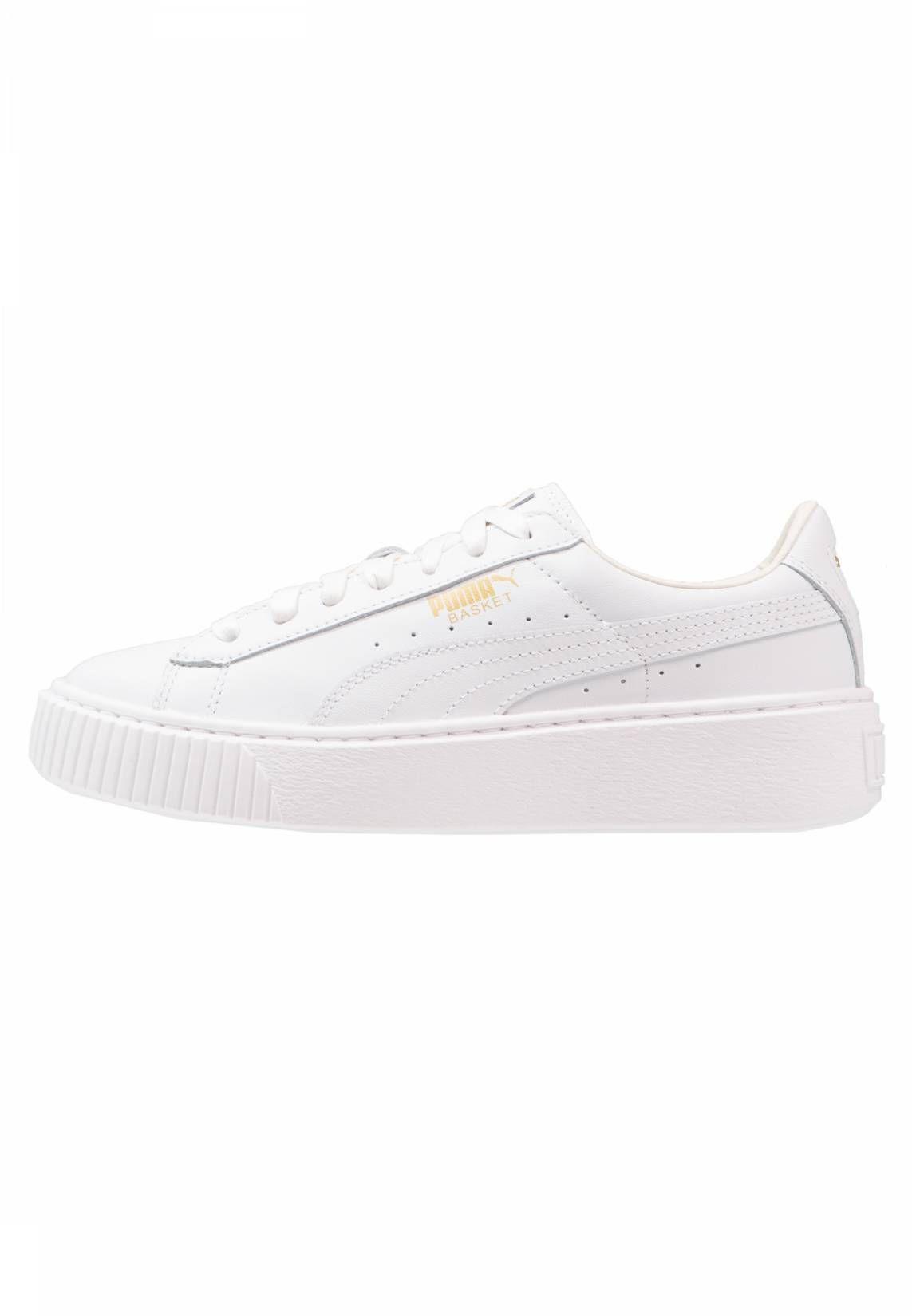 BASKET PLATFORM CORE Sneakers laag whitegold | Zalando