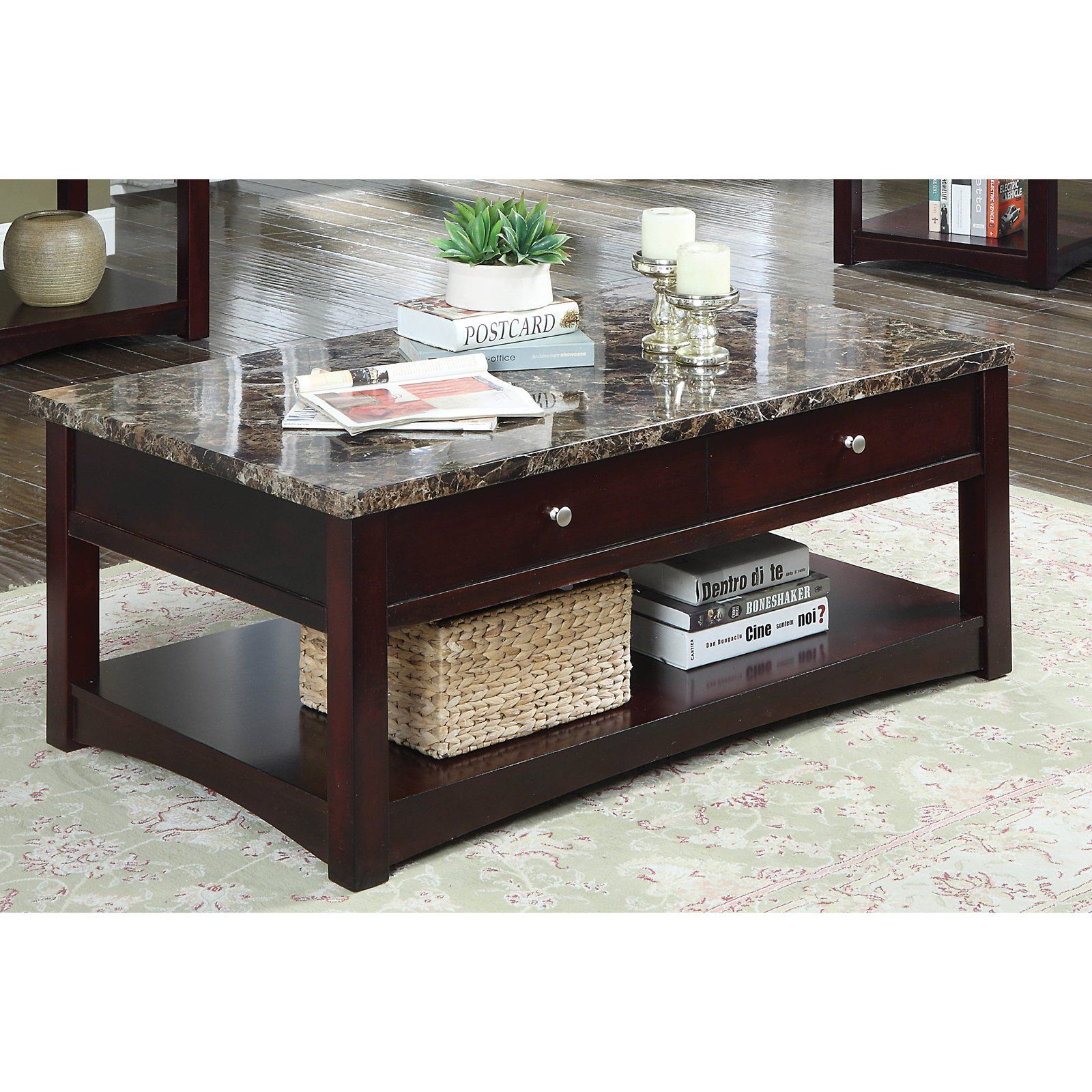 Furniture Of America Newport Contemporary Faux Marble Lift Top Coffee Table Marble Top Coffee Table Modern Coffee Table Decor Coffee Table [ 1600 x 1600 Pixel ]