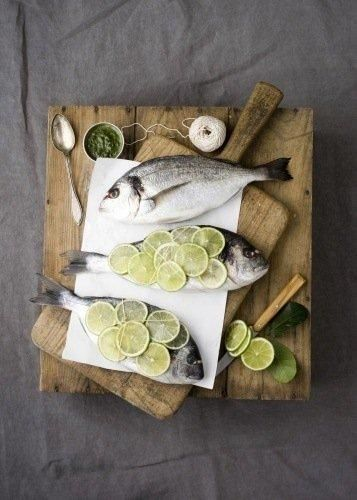 Fresh is best. Some tips on choosing the best fish at the markets: Look for bright, clear eyes. Look for the shine, Look for the redness of the gills and finally make sure it smells like clean water. Then all you need to do is hero the fish with a few key ingredients like lime and pesto.