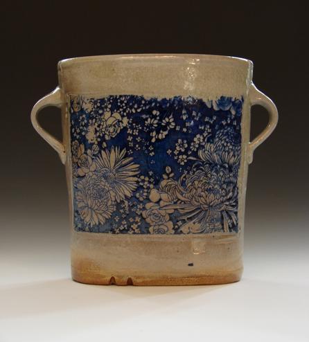 Blue Hyacinth Vase by mitch kimball