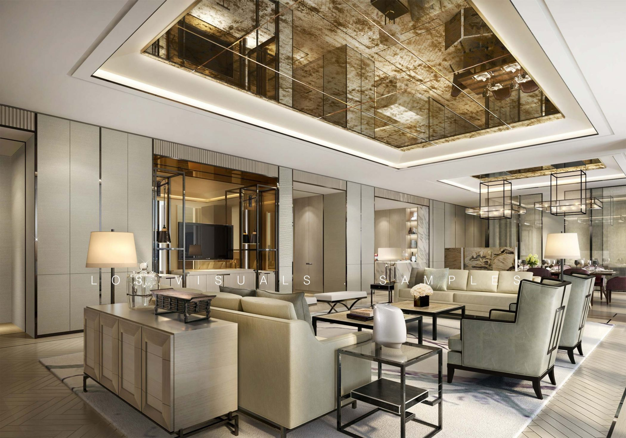 Award Winning Interior Design Company Architectural Rendering