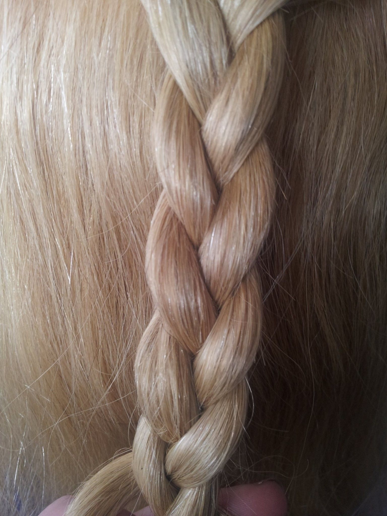 three strand over braid hairstyle example (not done by me