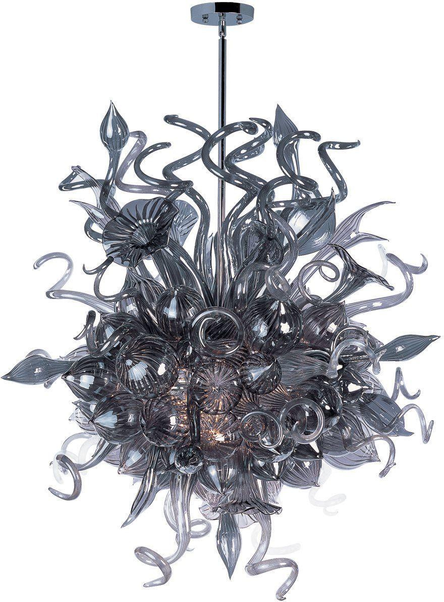 Minor Details HOME: Maxim Lighting 39726FMPC Mimi Contemporary Chandelier MX-39726-FMPC  $4450