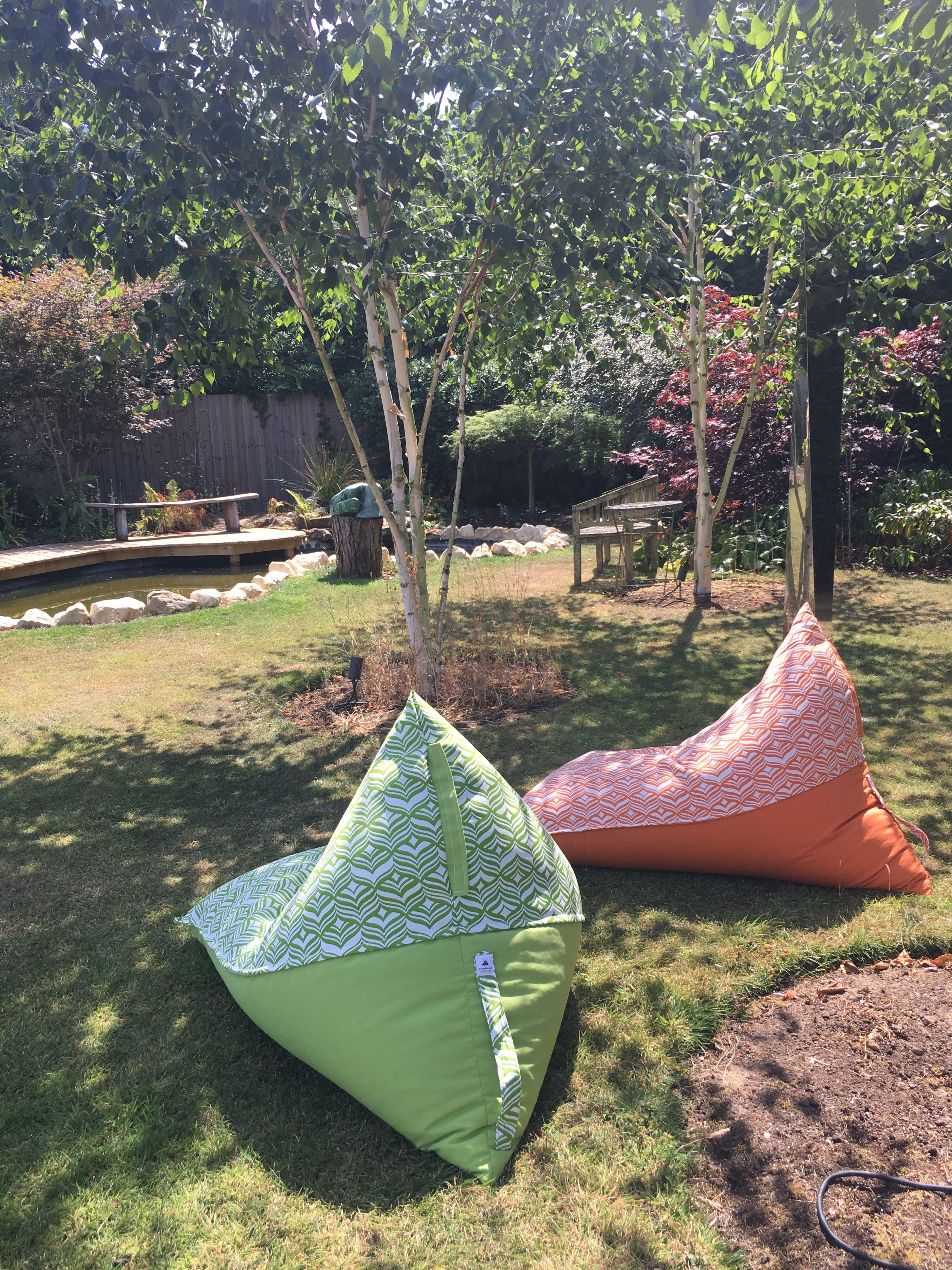 Outdoor & Indoor Bean Bag Loungers, Handmade In The UK And