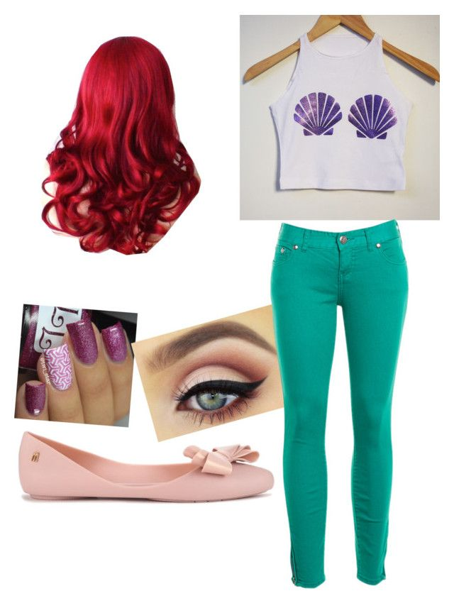 """""""Ariel"""" by little-mermaid3 ❤ liked on Polyvore featuring Melissa and Free People"""