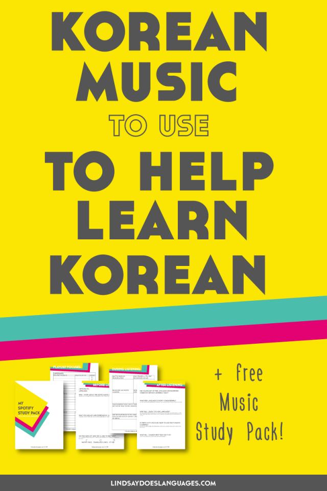 Korean Music I Use to Learn Korean (10 Korean Artists that arent K-Pop)