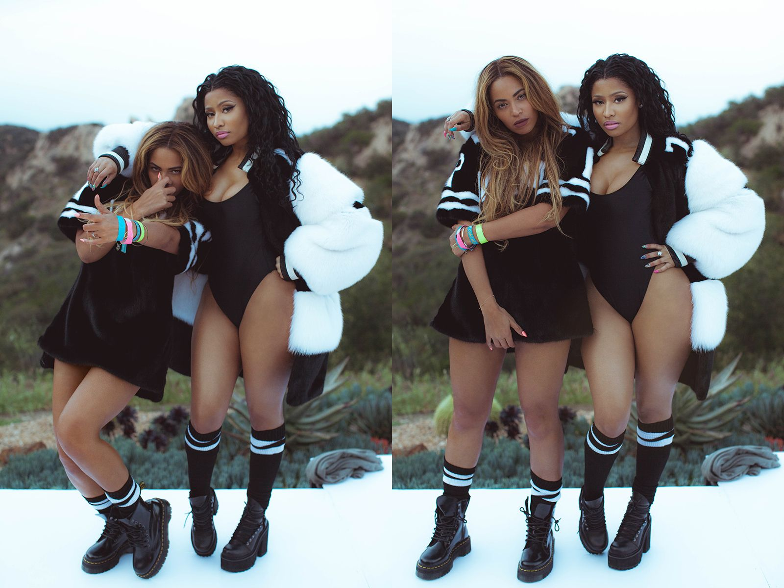 Beyonc & Nicki Minaj Feeling Myself Music Video 18052015