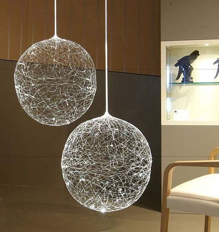 This Most Unusual Pendant Light Which Resembles A Full