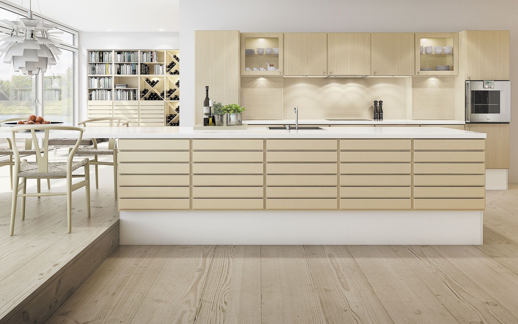 Multiform kitchen   Kitchens&Dining Rooms   Pinterest   Solid wood ...