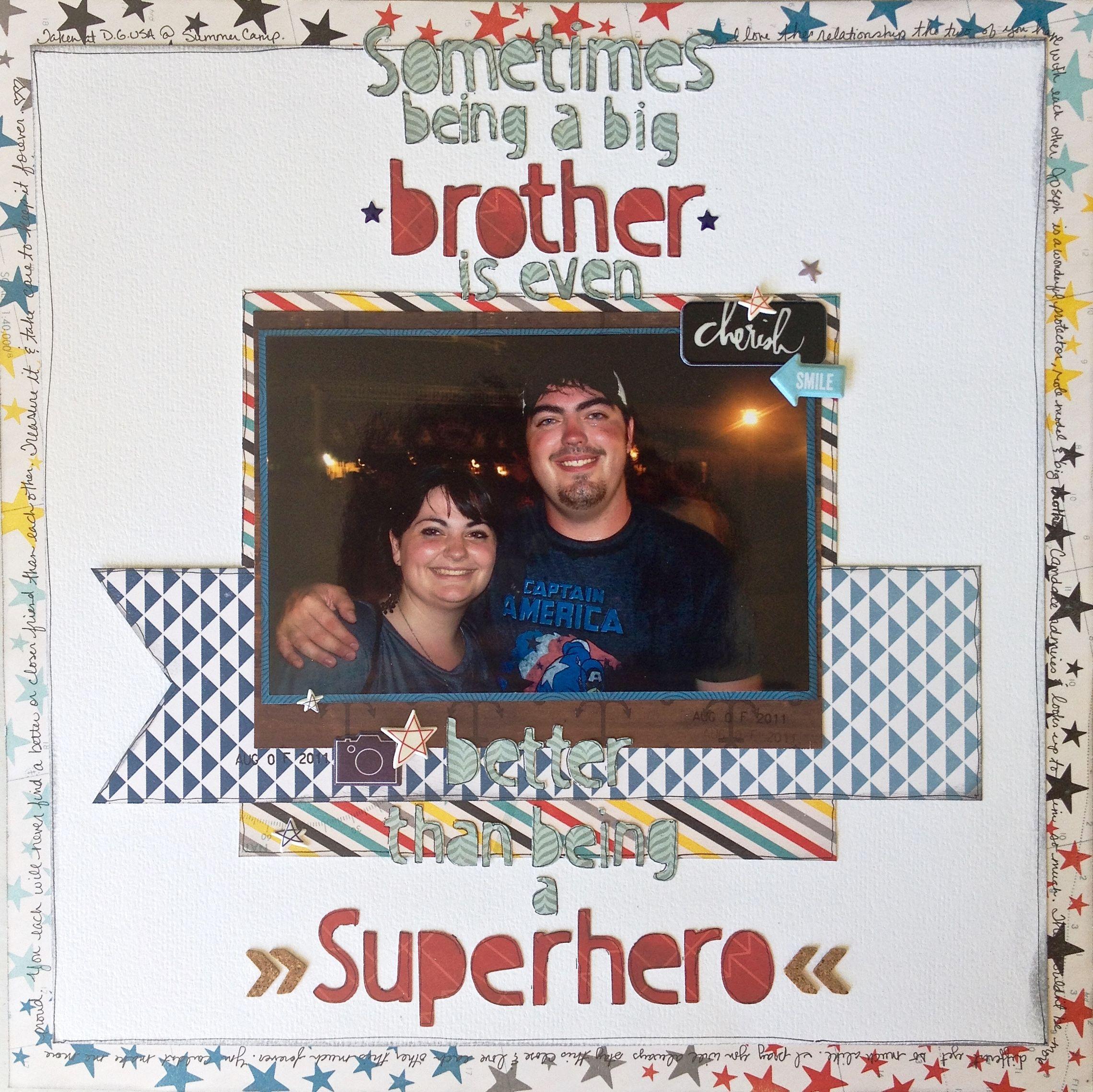 SuperHero - Scrapbook.com