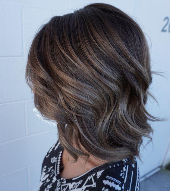Mushroom Brown Hair Color Ideas And Looks Brown Hair Balayage Brown Hair With Highlights Brown Blonde Hair
