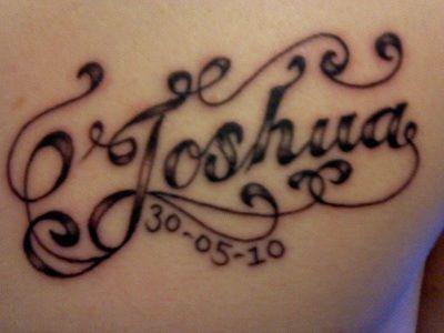 Joshua My Son Tattoo Tattoo For Son Name Tattoo Designs Name Tattoo