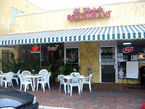 El Cristo Restaurant Calle Ocho Little Havana Miami