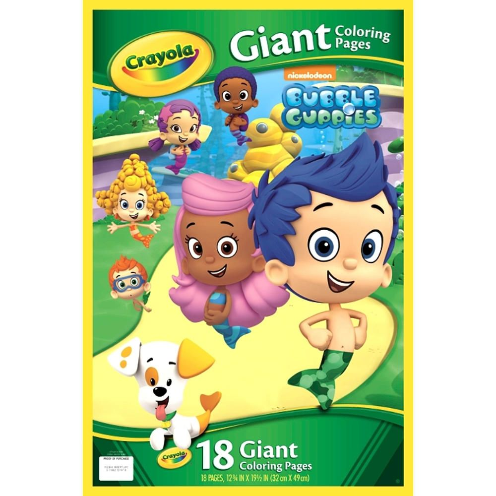 Any Coloring Books Material Bubble Guppies Giant Pages
