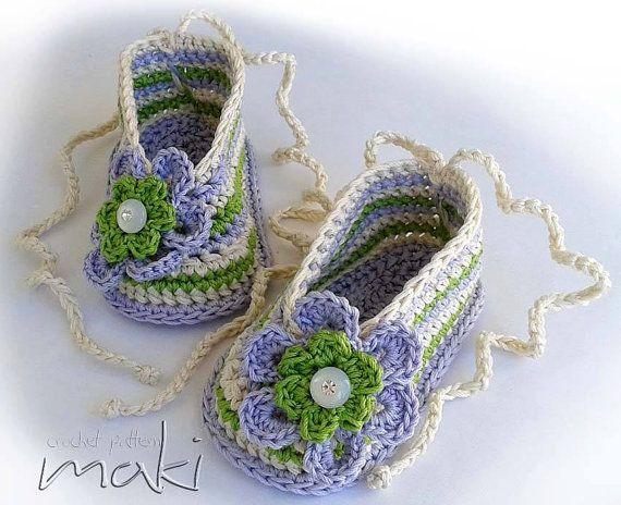 MIA crochet pattern baby ballerina Perfect for por MakiCrochet ...