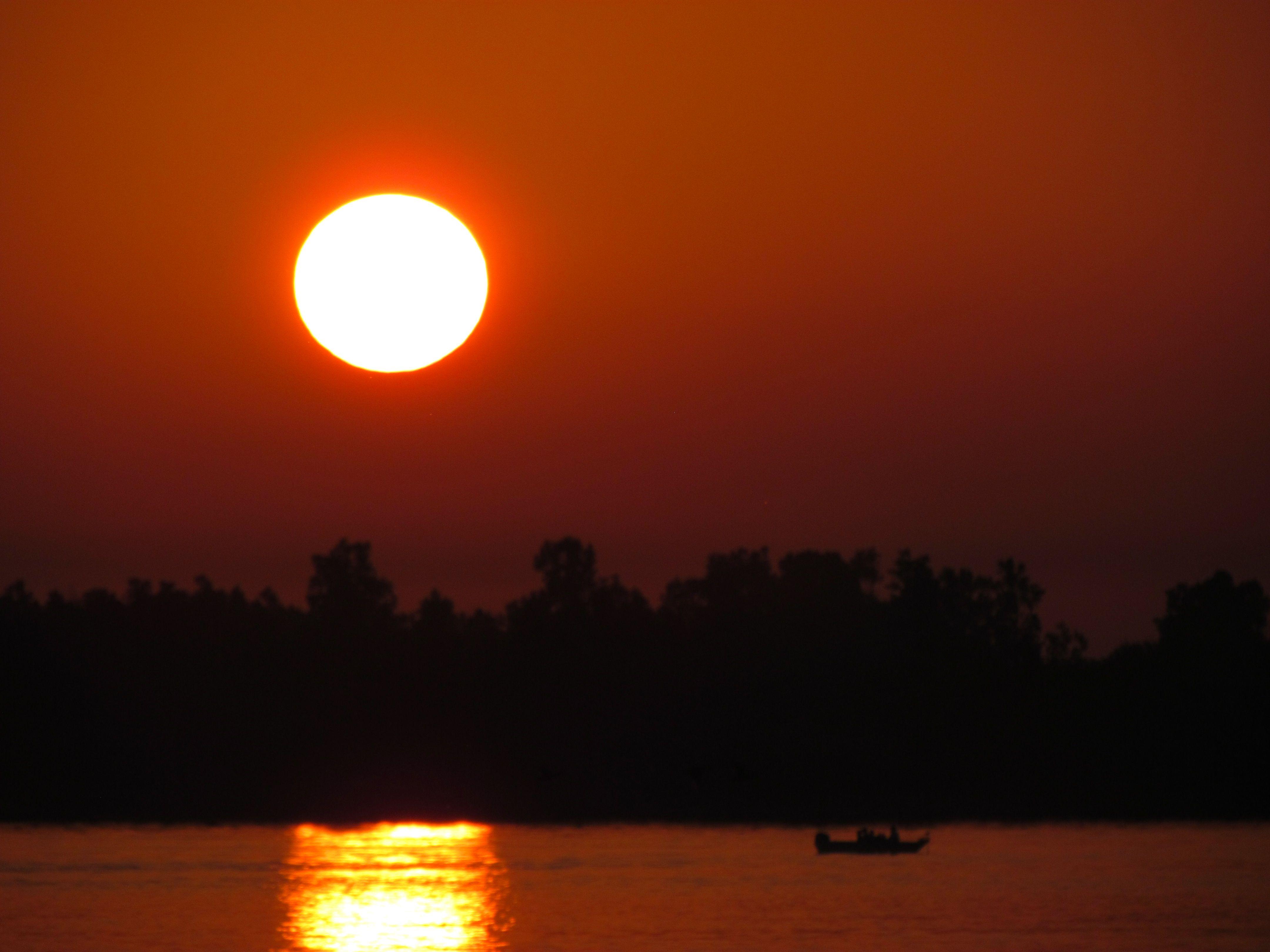 Sunrise at Bishop Park.