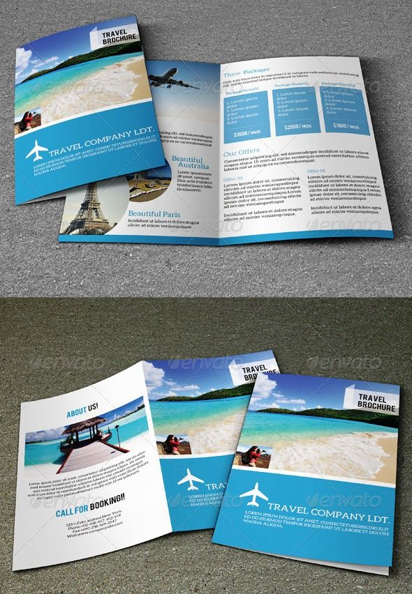 Brosur Tour dan Travel Explore The World Pinterest Dan - vacation brochure template