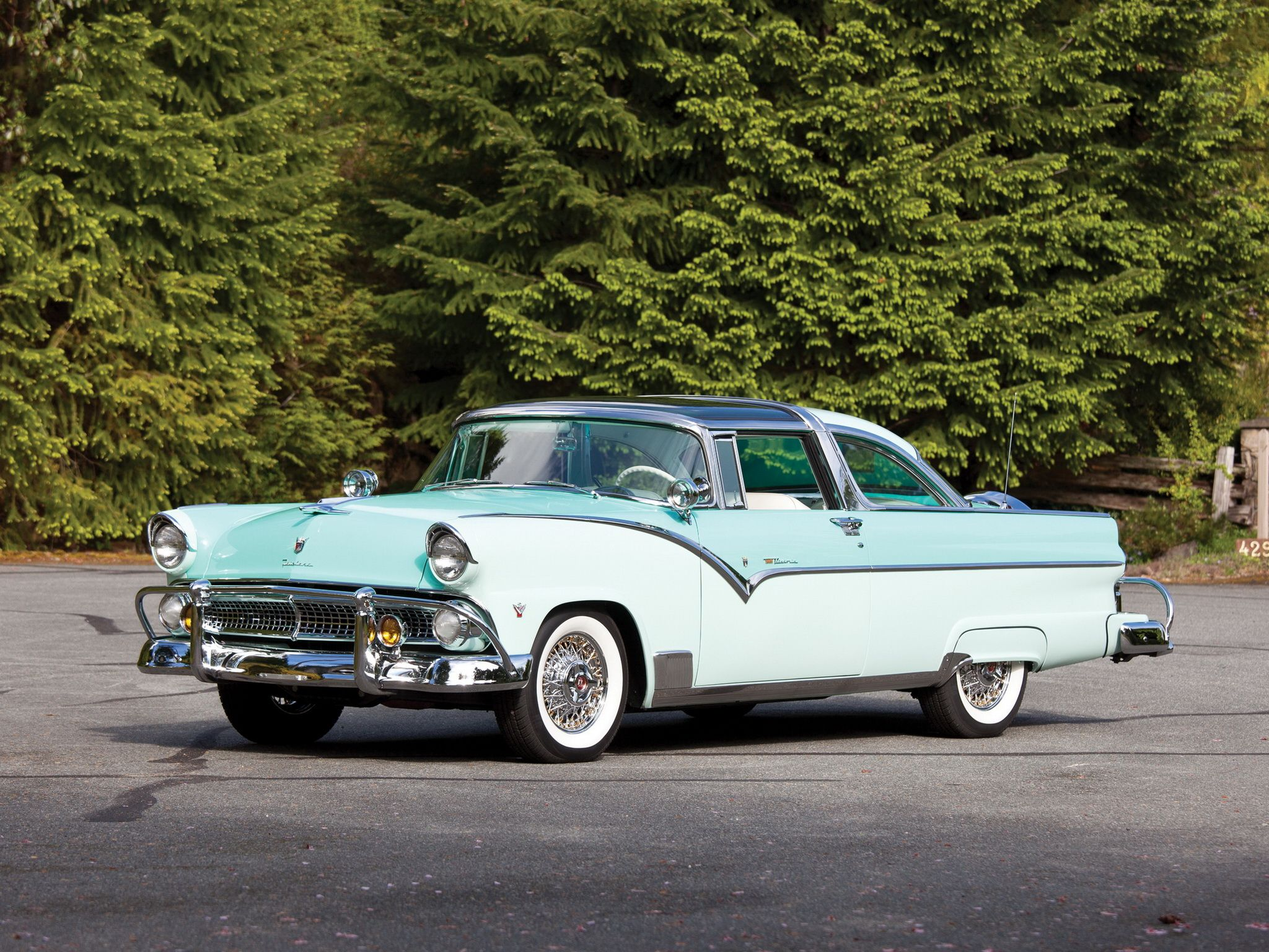1955 ford fairlane crown victoria blog cars on line - 1955 Ford Fairlane Crown Victoria Skyliner