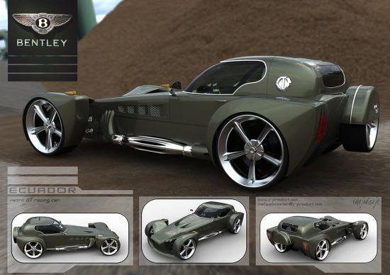 Bentley Ecuador racing concept: Retro design, modern technology
