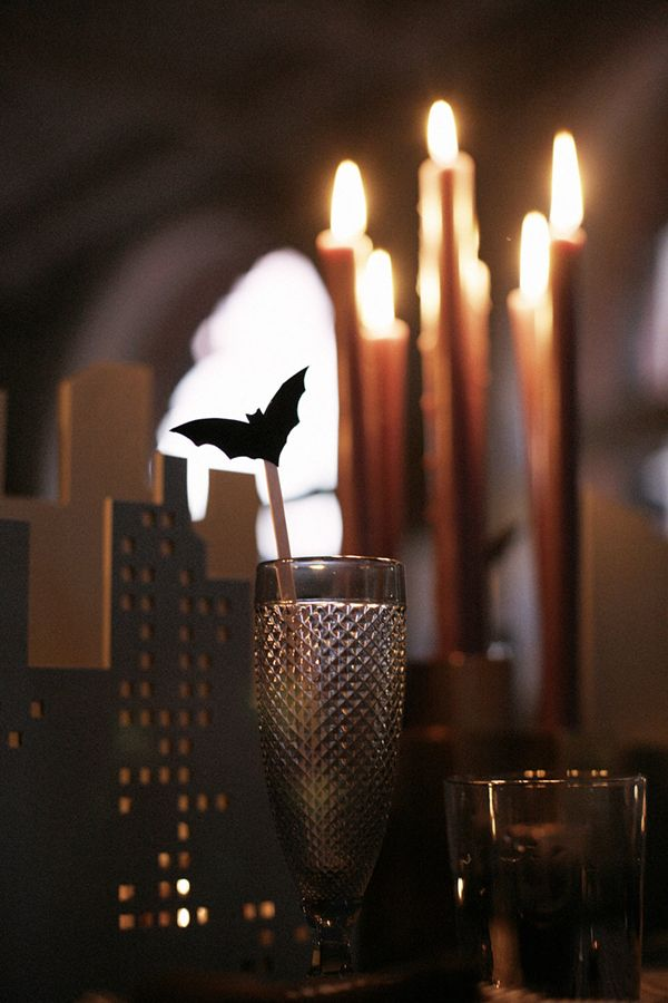 Gotham Halloween Tabletop Gotham, Halloween parties and Batman party - halloween party decorations for adults