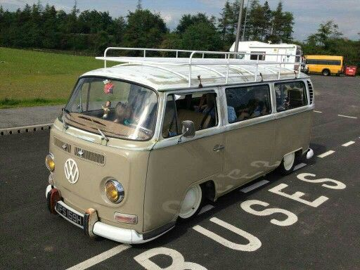 Full Length Roof Rack Vintage Vw Bus Vintage Vw Van Vw Bus Camper