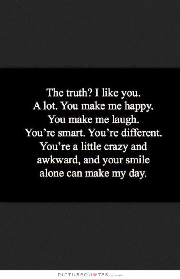 "11 ""You Make Me Happy"" -Zitate - #forfriends #Happy #Zitate"