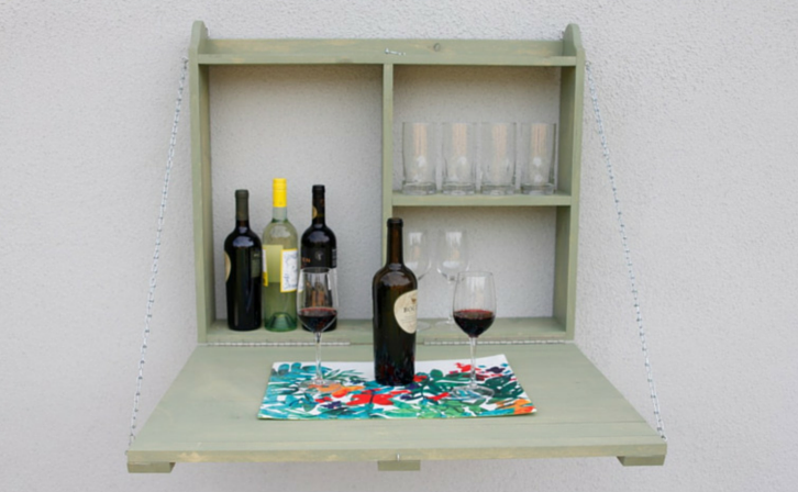 House · Outdoor Hanging Bar Cabinet