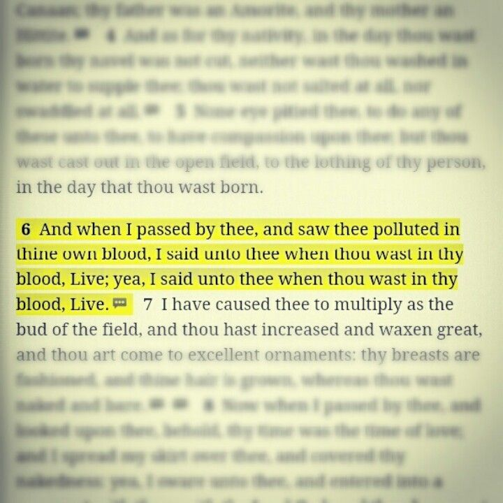 When you have a nose bleed, repeat this Bible verse untill it stops