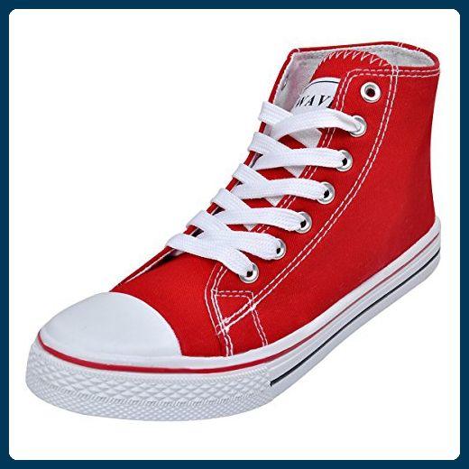 vidaXL Damen Sneaker Low Top Canvas Schnür Schuhe Turnschuhe Sportschuhe Gr. 37