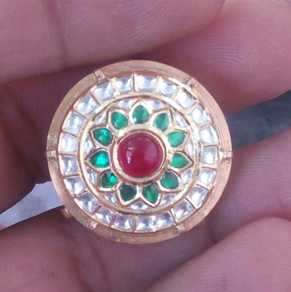 Rajputi jewellery beautiful rakhri by Kuldeep Singh   Royal ...