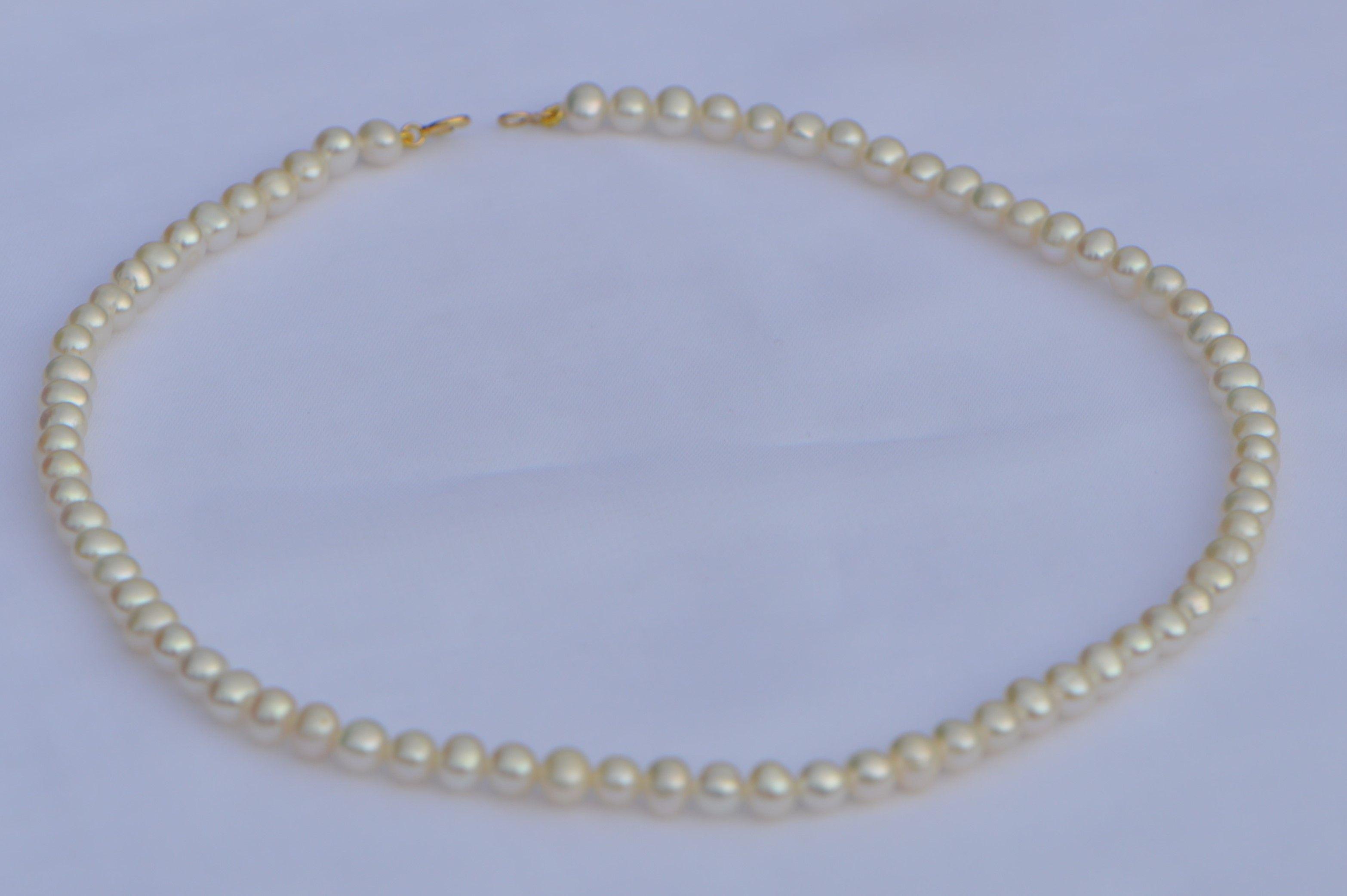 fermoir collier perle de culture