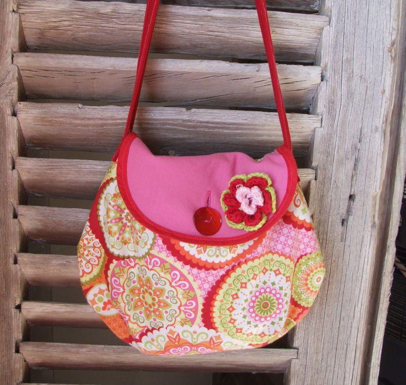 Patron couture gratuit sac fillette - Tuto pour creer un sac en crochet ...