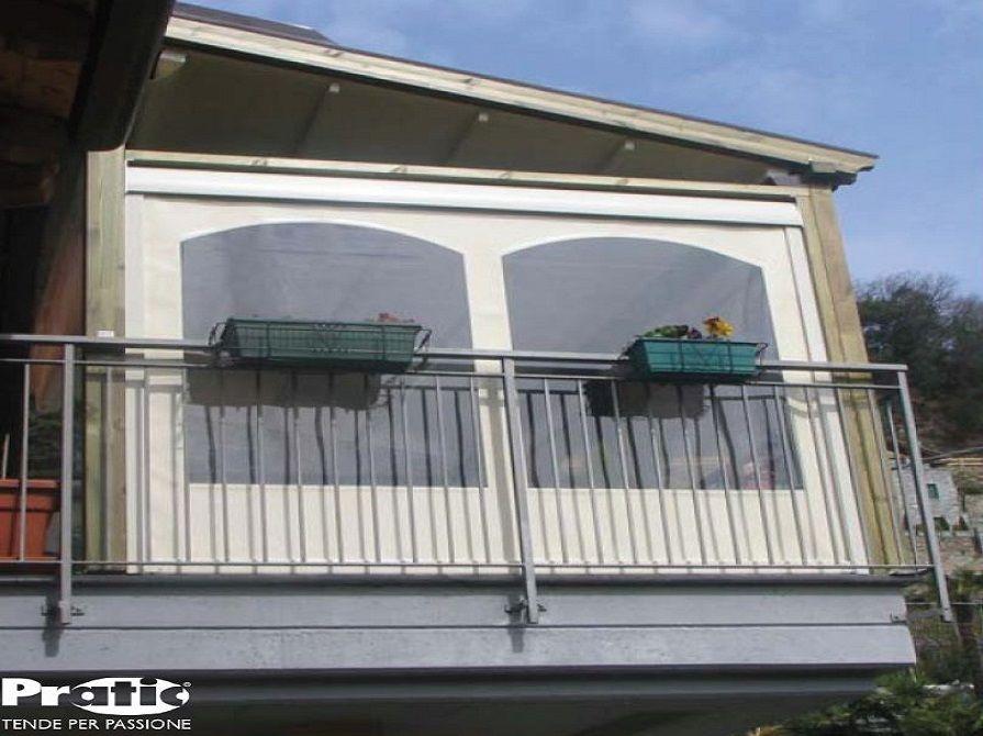 Chiusura Balcone Balconi Decorazioni Esterne Veranda