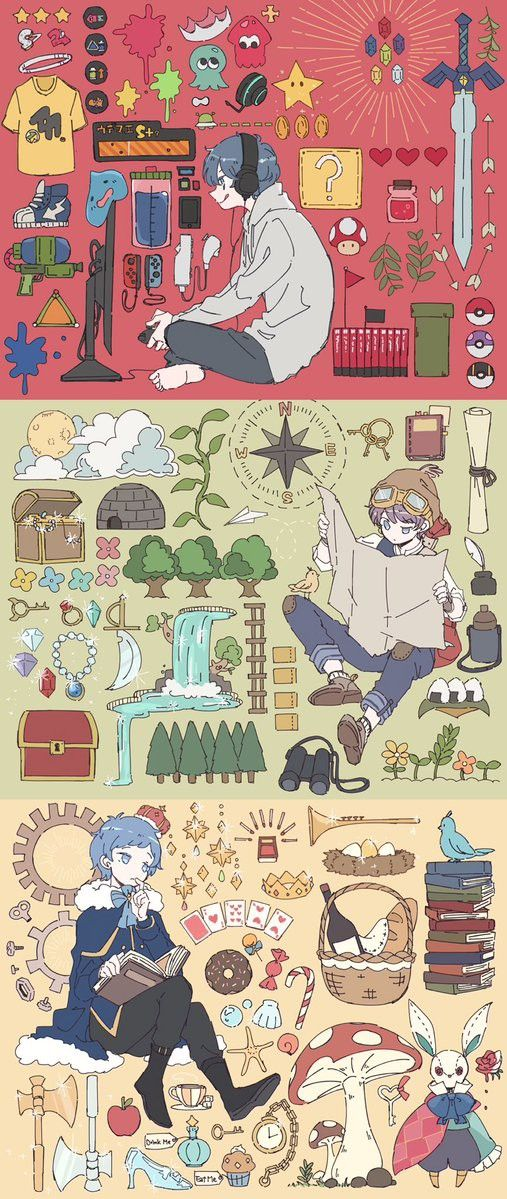 Pin By Jesus On Aesthetic Character Design Cute Art
