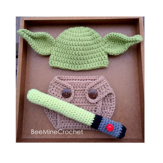 PATTERN Green Mythical Creature Newborn Outfit (Baby 0-3 Months) Hat ...