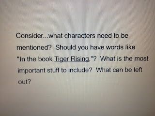 Blog post continuing our studies about literary essays!  This is a tricky writing genre for many students, but we teachers can make it easier by helping with prewriting discussions.