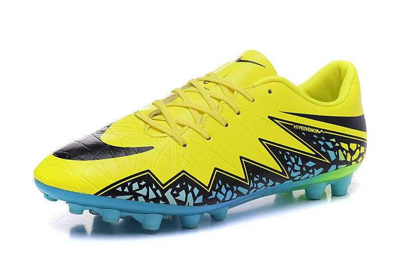 outlet store sale 6693e 55003 Nike Hypervenom Phelon II Neymar AG 2018 Word Cup yellow ...