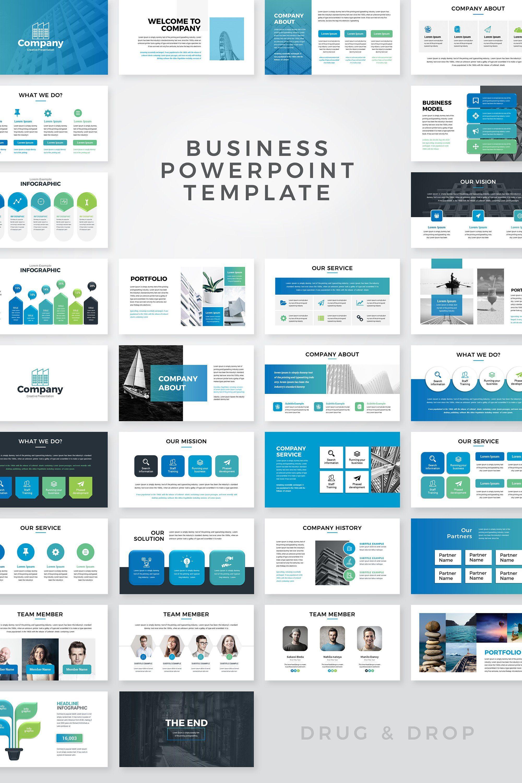 Modern Clean Powerpoint Presentation Template In 2020 Powerpoint